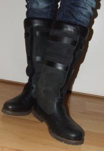 half hoge laarzen human nature